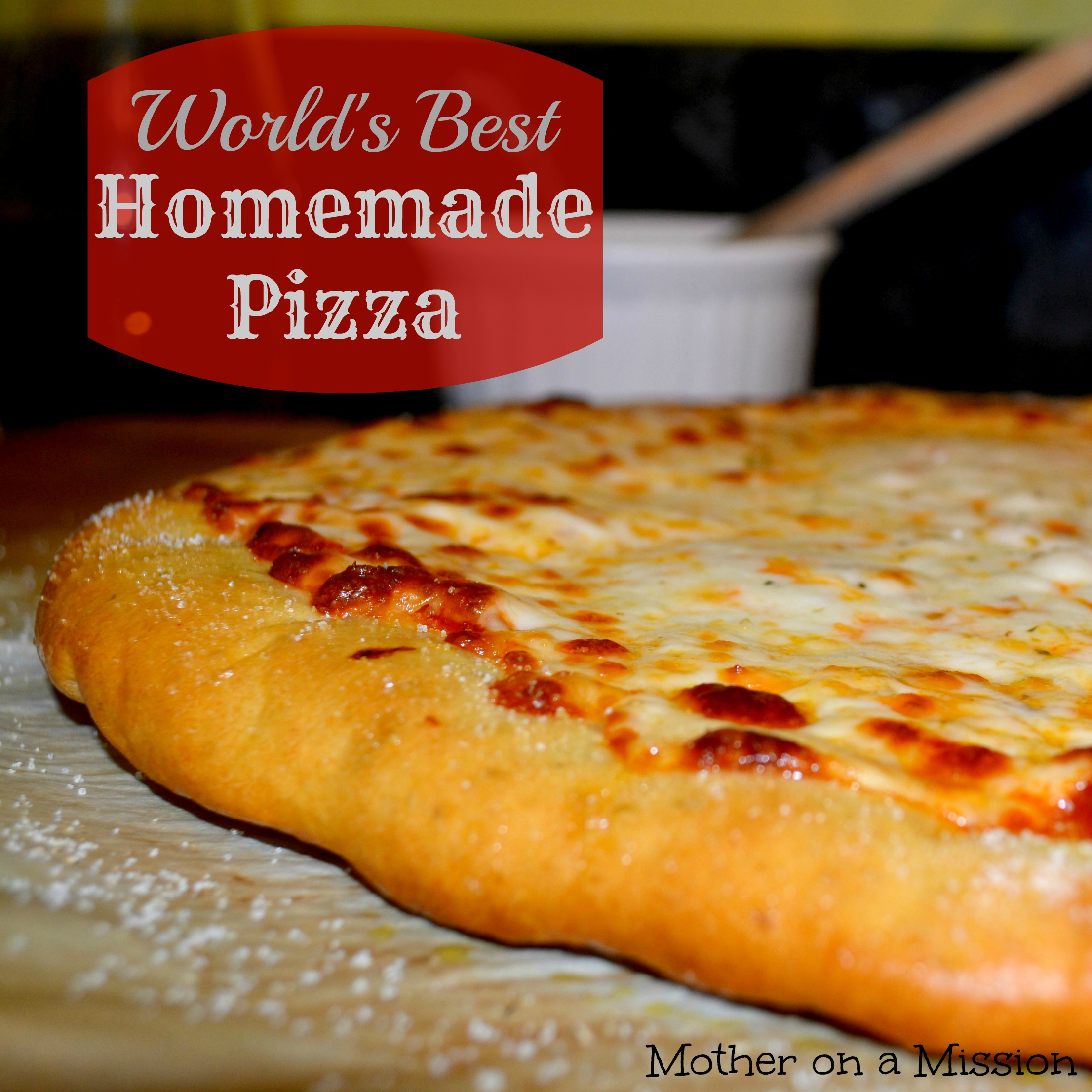 The world's best homemade pizza recipe and tutorial. Prepare to throw ...