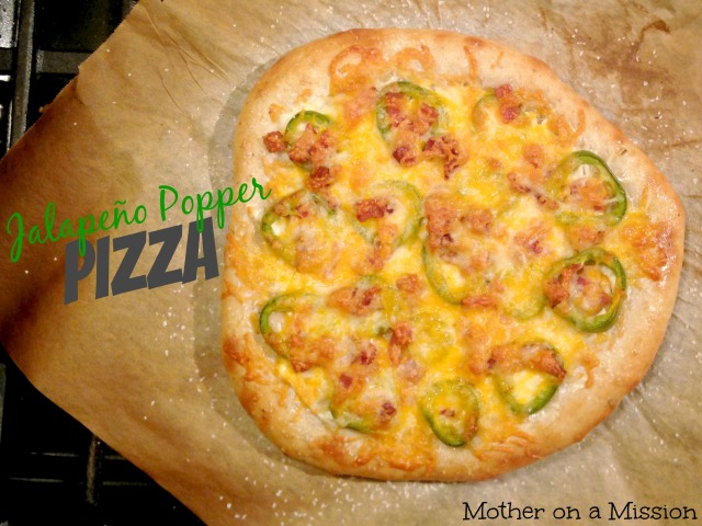 Jalapeño Popper Pizza