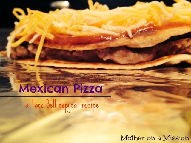 Copycat Taco Bell Mexican Pizzas